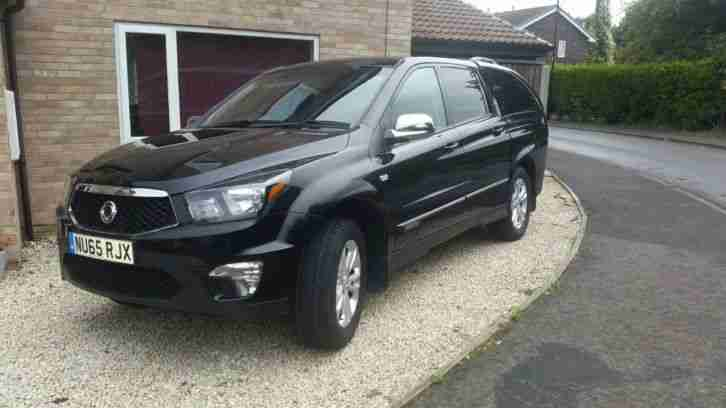 Ssangyong Korando Sport 2.0 TD EX Pick up 4wd 4dr Automatic Low Milage