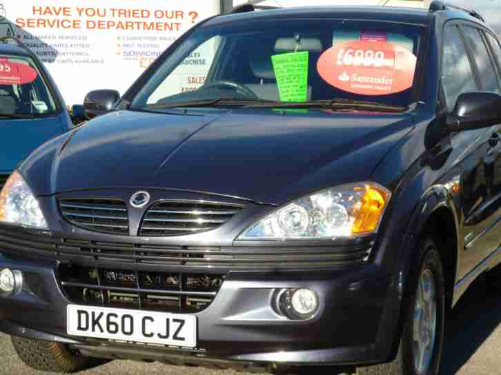 Ssangyong Kyron 2.0TD. Ssangyong car from United Kingdom