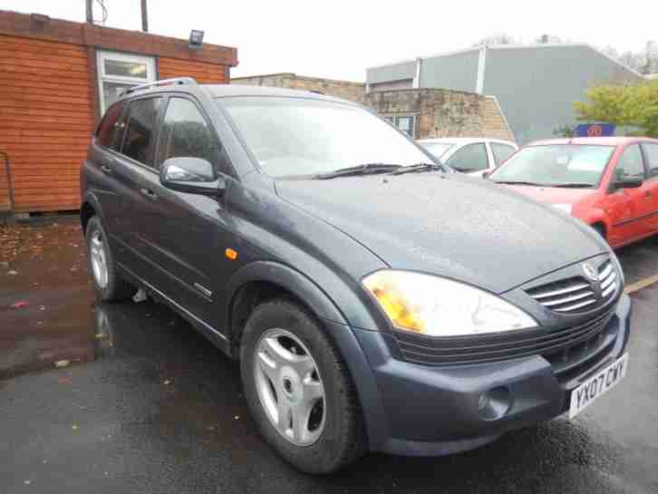 Ssangyong Kyron 2.0TD auto 2007MY SX