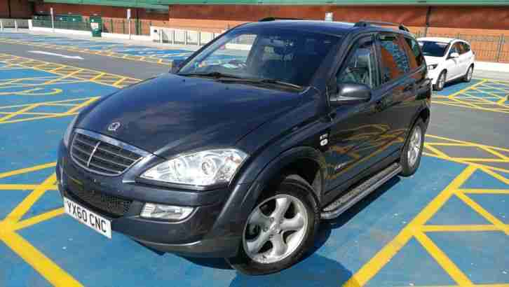 Ssangyong Kyron 2.7. Ssangyong car from United Kingdom