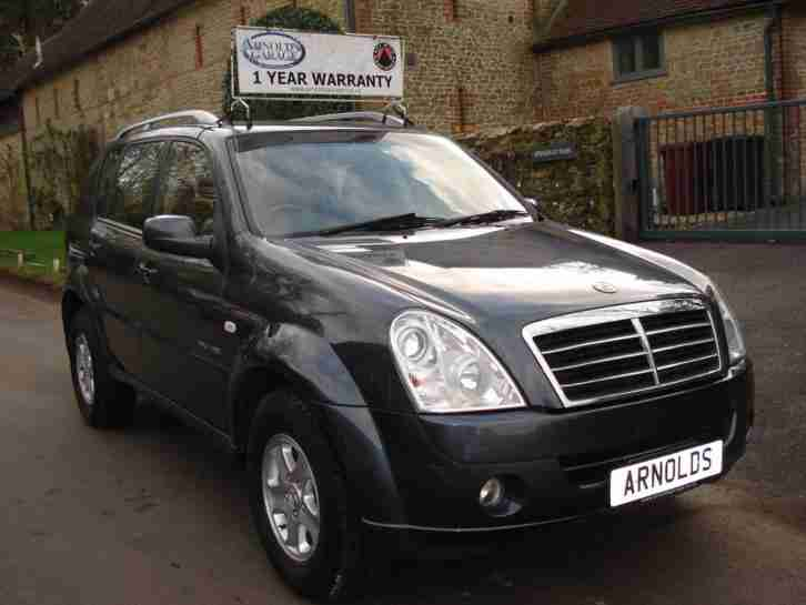 Ssangyong Rexton 2.7TD. Ssangyong car from United Kingdom