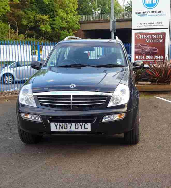 Ssangyong Rexton 2.7TD SE ( 7st ) 2007MY RX 270 SE7 DIRECT FROM MAIN DEALER