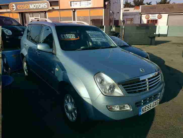Ssangyong Rexton 2.7TD diesel auto ****59,000**** miles 4x4 £3995 px welcome