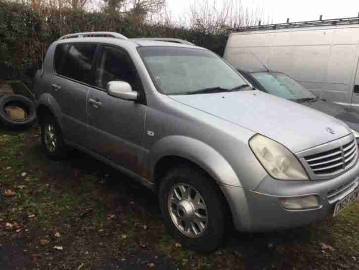 Ssangyong Rexton 2.7xdi. Ssangyong car from United Kingdom