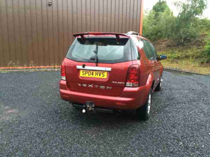 Ssangyong Rexton 2.9TD RX 290 S GREAT 4X4 LOW MILES SWAP PX WHY