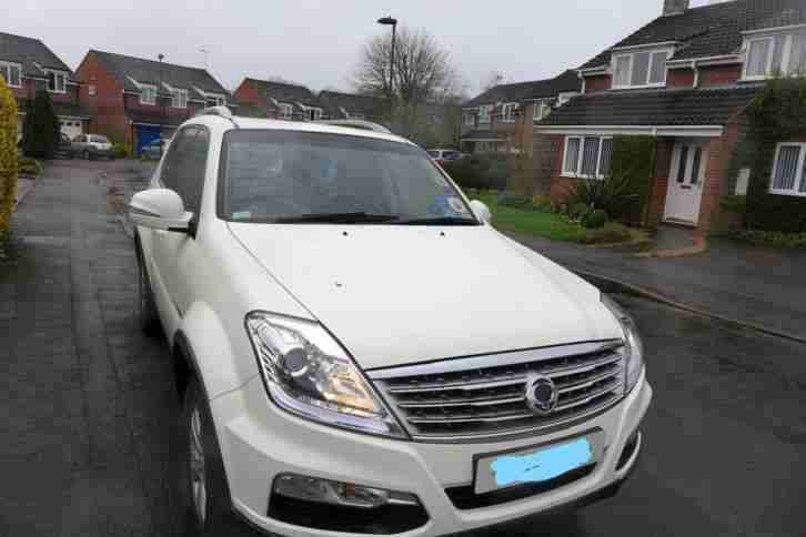 Ssangyong Rexton CS. Ssangyong car from United Kingdom