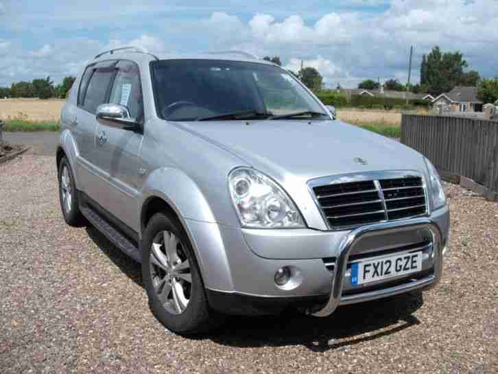 Ssangyong Rexton EX. Ssangyong car from United Kingdom