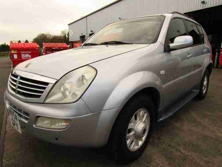 Ssangyong Rexton LEFT. Ssangyong car from United Kingdom