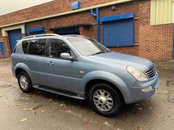 Ssangyong Rexton Low. Ssangyong car from United Kingdom