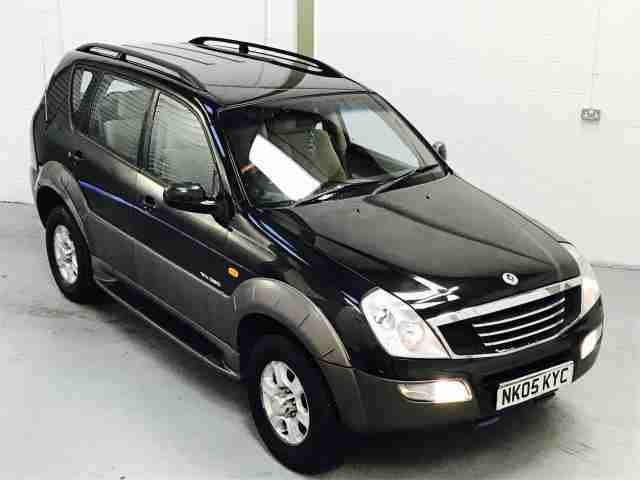 Ssangyong Rexton RX. Ssangyong car from United Kingdom