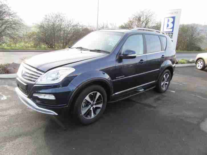 Ssangyong Rexton W 2.2TD ( 178ps ) 4X4 T-Tronic 2016MY ELX