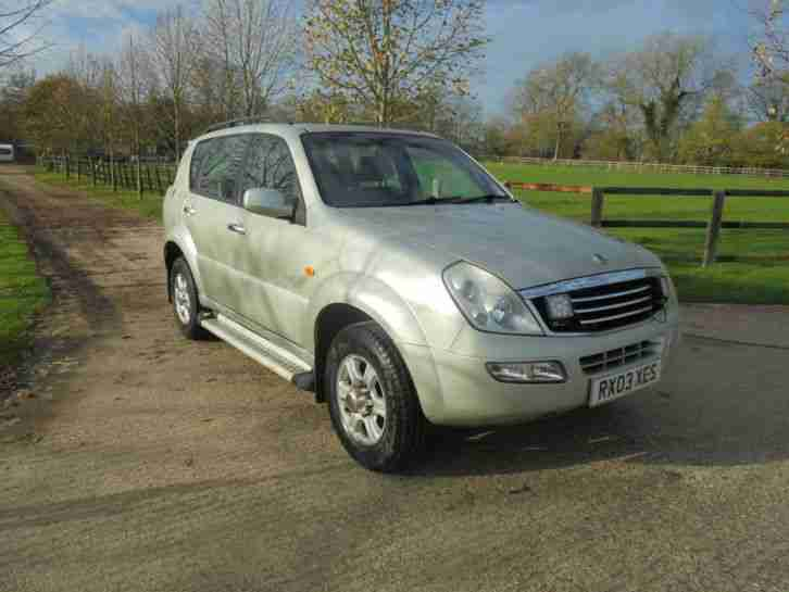 Ssangyong Rexton diesel auto leather