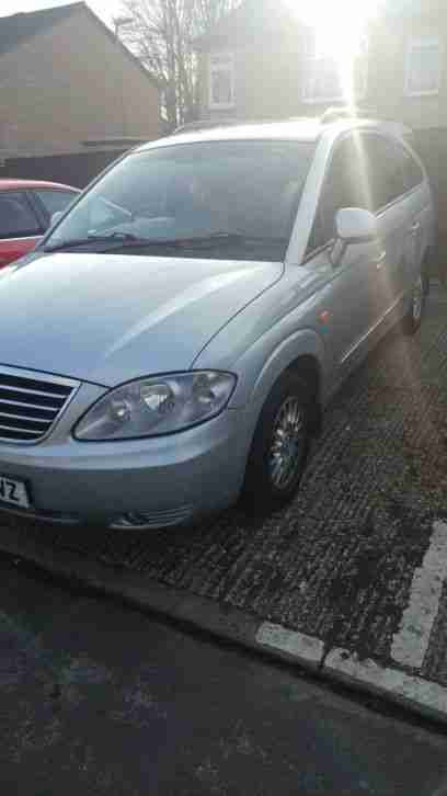 Ssangyong Rodius 2.7. Ssangyong car from United Kingdom