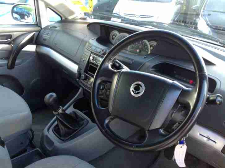 Ssangyong Rodius 2.7TD SX 7 seater