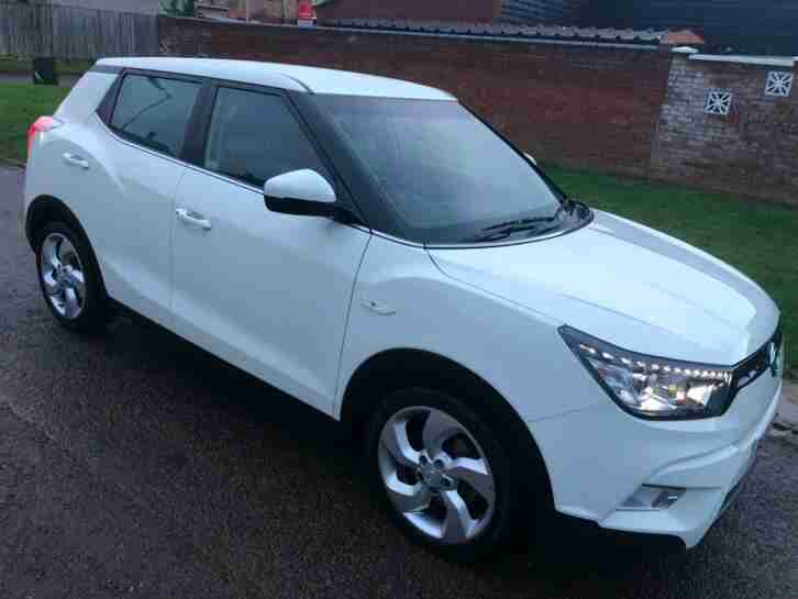 Ssangyong Tivoli 1.6. Ssangyong car from United Kingdom