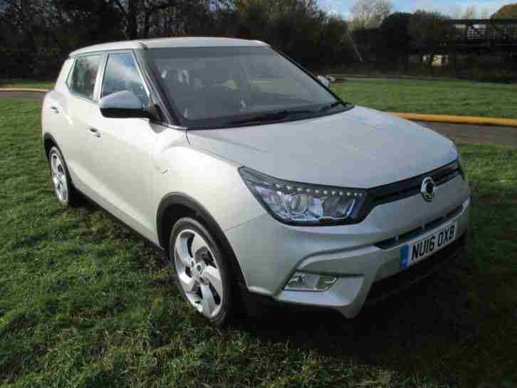 Ssangyong Tivoli EX. Ssangyong car from United Kingdom