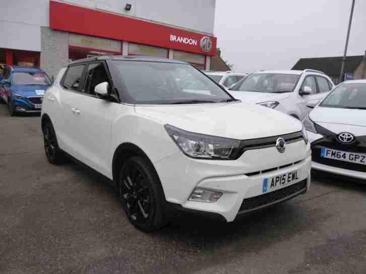 Ssangyong Tivoli Elx. Ssangyong car from United Kingdom