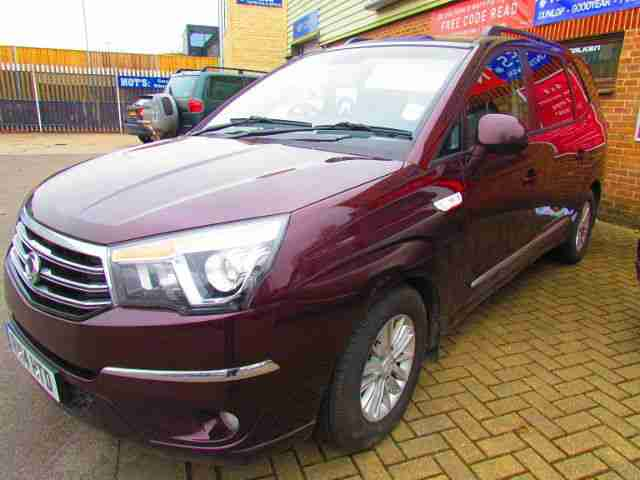 Ssangyong Turismo 2.0TD ( 155ps ) T-Tronic ES