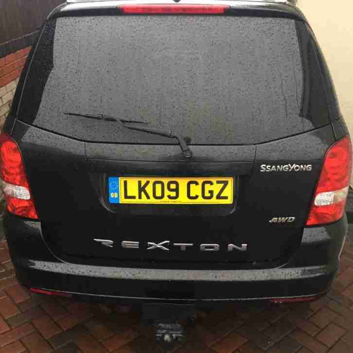 Ssanyong Rexton 2009. Ssangyong car from United Kingdom