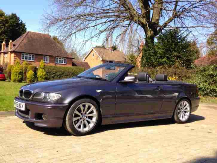 Stunning BMW 330ci M Sport 2005 auto excellent condition - LOW MILEAGE