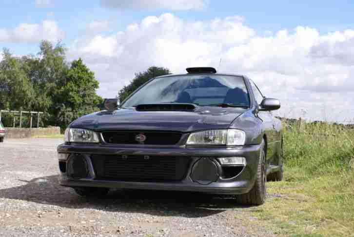 Subaru 22B replica. Subaru car from United Kingdom