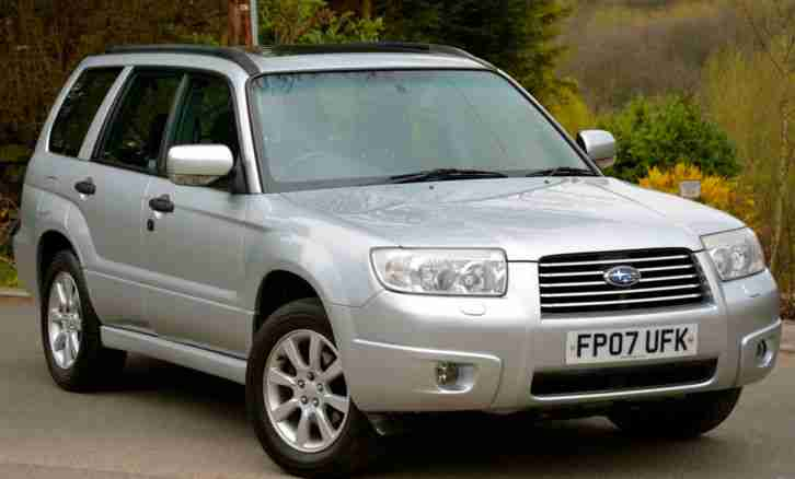Forester 2.0 XC 2007 AWD Estate Silver