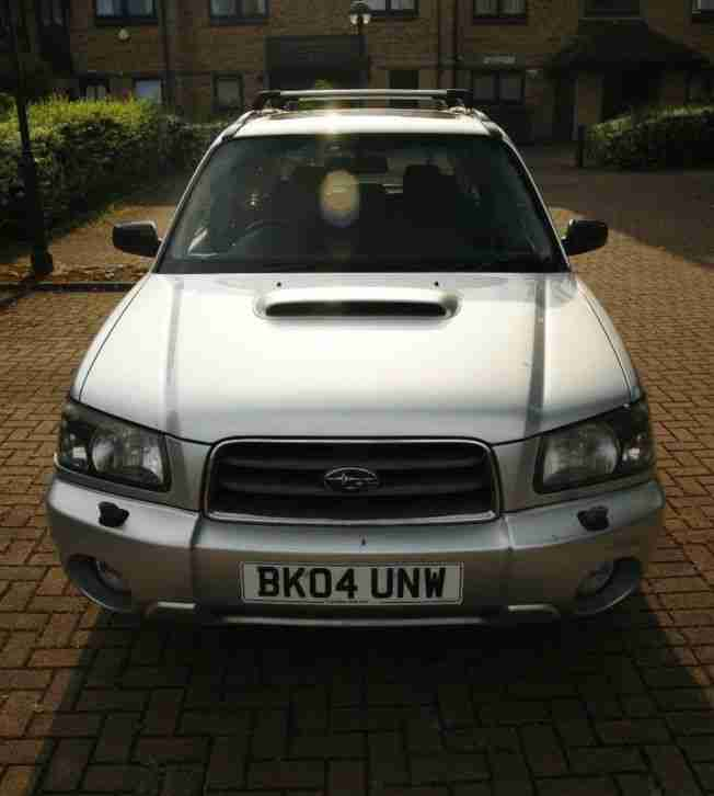 Subaru Forester 2.0 XT Turbo manual 2004
