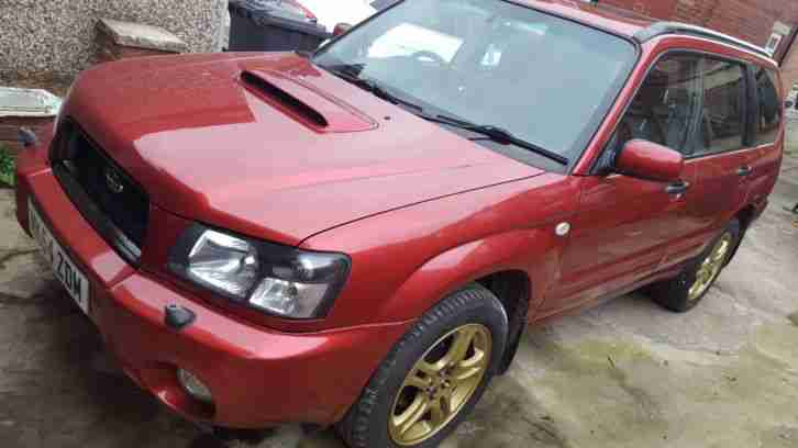 Forester 2.0XT Turbo 2004 Red