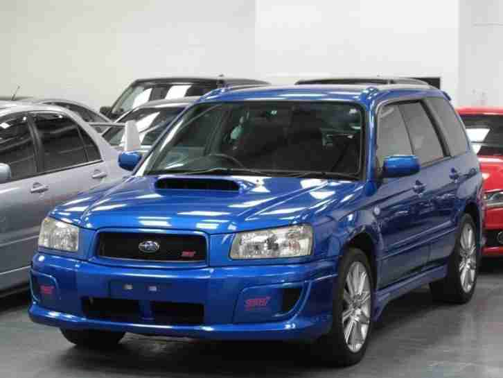 subaru forester 2 5 sti 4wd turbo petrol manual 2004 04 car for sale. Black Bedroom Furniture Sets. Home Design Ideas