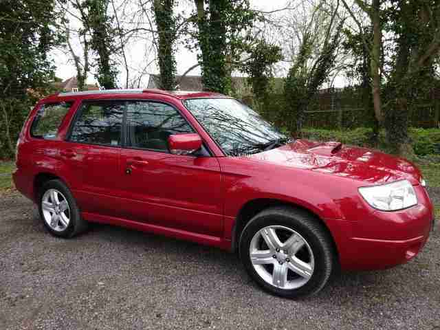 Forester 2.5 XTEn 5 Door 2007 07 reg