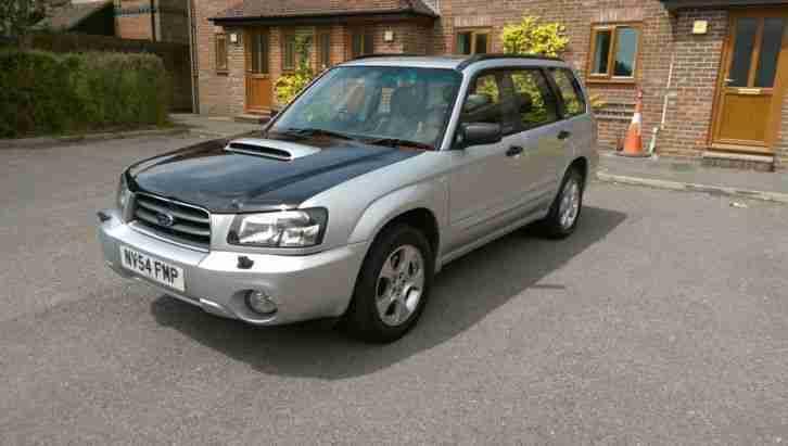 subaru forester 2004 2 0 lit xt turbo awd estate car for sale. Black Bedroom Furniture Sets. Home Design Ideas