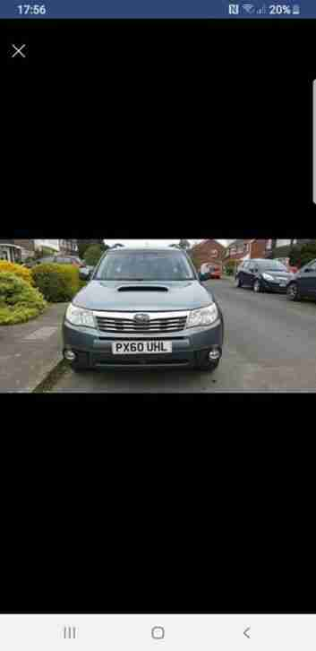 Forester 2010 Manual Diesel 4x4 4 x 4