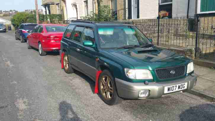 subaru forester s turbo awd sti lookalike car for sale. Black Bedroom Furniture Sets. Home Design Ideas
