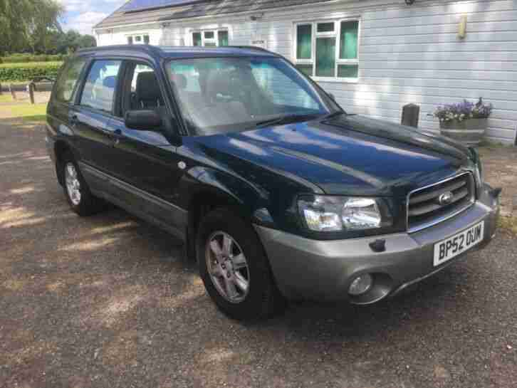 Subaru Forester X All Weather AWD Estate Full Dealer Hstory