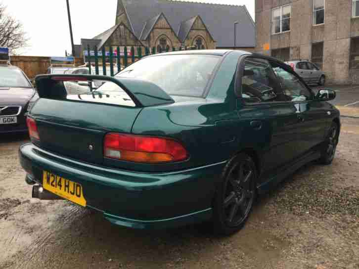 ★Subaru Impreza 2.0 Turbo 2000 4dr 4WD ★NICE EXAMPLE ★FULL LEATHER INTERIOR★