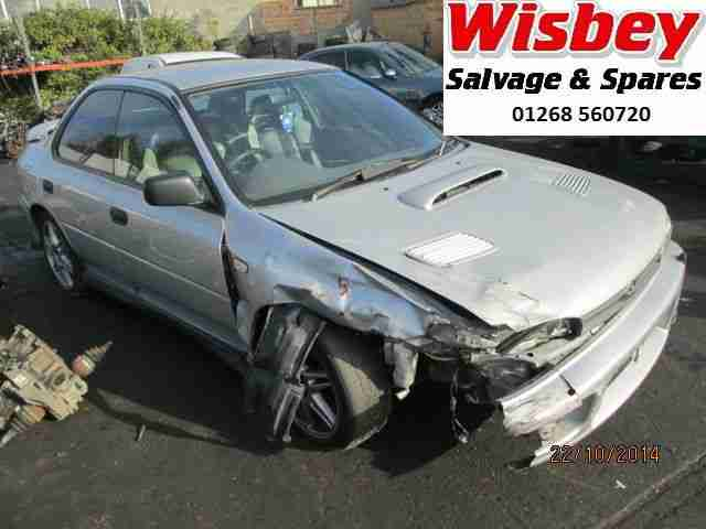 Subaru Impreza 2.0 Turbo 2000 breaking for spares