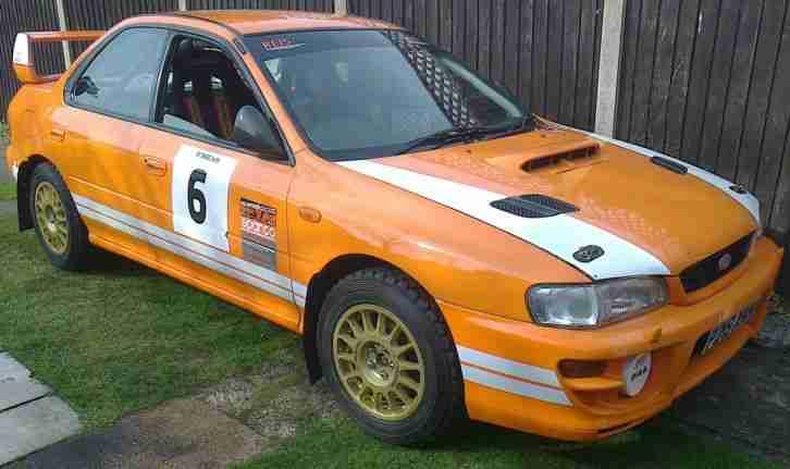 subaru impreza gc8 ra stage rally car 6 speed simtek rally winning. Black Bedroom Furniture Sets. Home Design Ideas