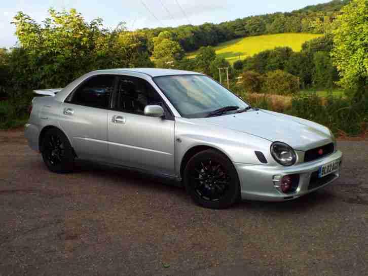 subaru impreza gx sport 2002 2 0l bug eye fsh  car for sale