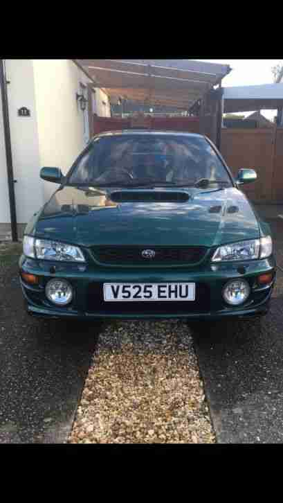 Subaru Impreza Turbo. Subaru car from United Kingdom