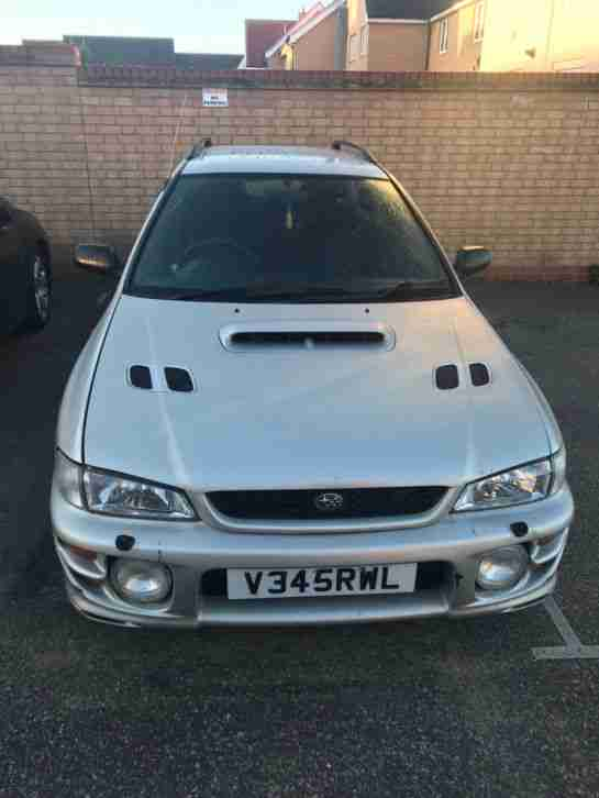 subaru impreza turbo wagon uk 1999 car for sale. Black Bedroom Furniture Sets. Home Design Ideas