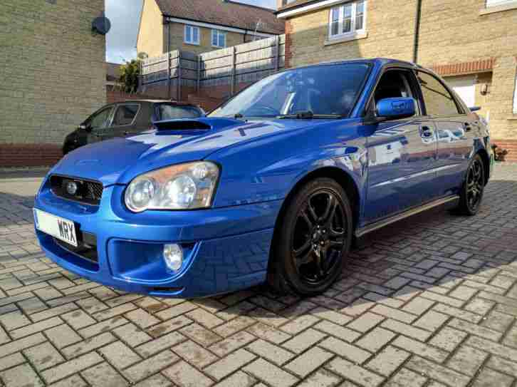 Subaru Impreza WRX 2.0 Turbo AWD 325BHP FSH 02c Blue modified tuned remapped