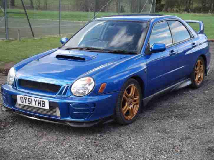 Subaru Impreza Wrx Car From United Kingdom