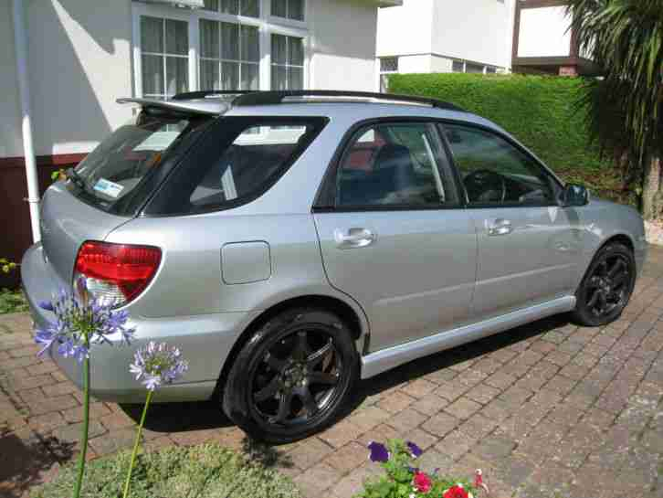 subaru impreza wrx turbo wagon estate 2004 car for sale. Black Bedroom Furniture Sets. Home Design Ideas