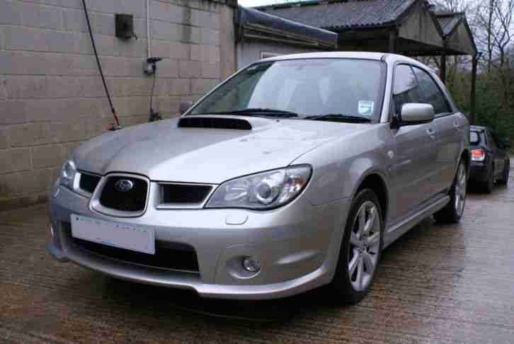 subaru impreza wrx wagon 2006 silver 110 745 miles fsh engine re. Black Bedroom Furniture Sets. Home Design Ideas
