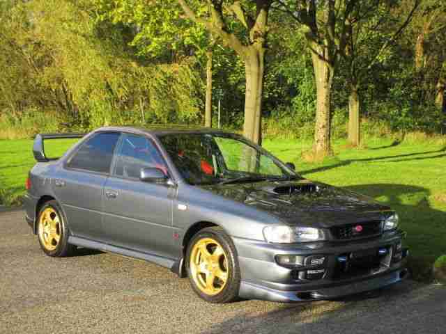 Subaru Impreza Wrx Sti Version 6 Low Miles Service History