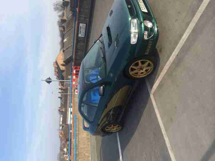 Subaru Impreza turbo 4 wheel drive mot vgc 1999 lots of mods no reaserve fsh