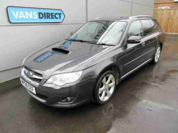 Subaru Legacy 2.0TD 150 RE Estate Leather 2 Owners DIESEL MANUAL 2008 08