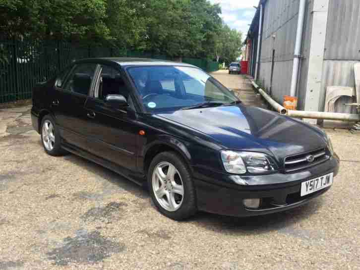 Subaru Legacy AWD 2.5 auto low mileage leather 4x4 swap swop px