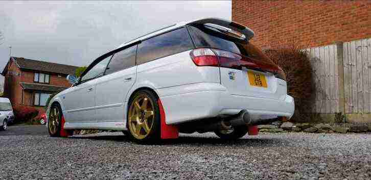 Subaru Legacy GTB. Subaru car from United Kingdom