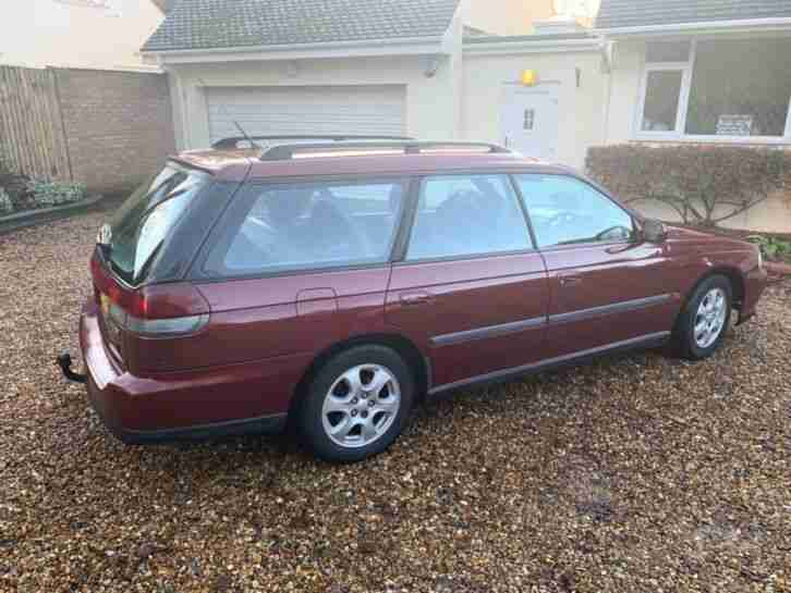 Subaru Legacy estate 2.5 AWD ultra low mileage 74K,1 lady owner,excellent car
